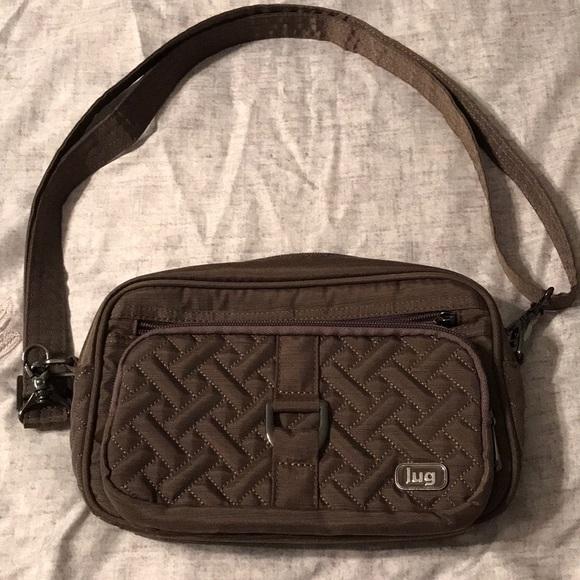 2b1ca7b8af Lug Handbags - Lug Brushed Walnut Carousel Crossbody